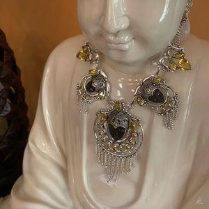 Exquisite Faces Necklace
